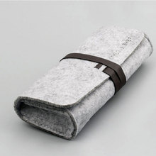 china wholesale high quality felt glasses case custom print
