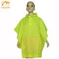 Polyester Children Waterproof Raincoat with a Hat