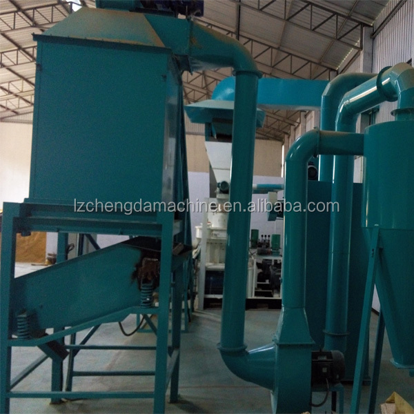 capacity 1-1.5T/H wood pellet cooler with CE certification