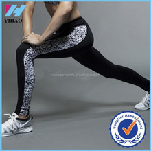 Yihao Women's Fashion Print Full Length Fitness Gym Yoga Wear Capris Legging Pants 2015
