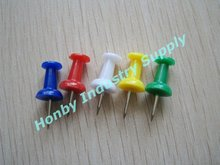 Cute 23mm Bottle Shape Assorted Color Office Push Pin