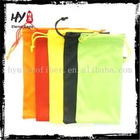 2015 new products sports mobile phone arm pouch,microfiber drawstring bag,folding glasses case