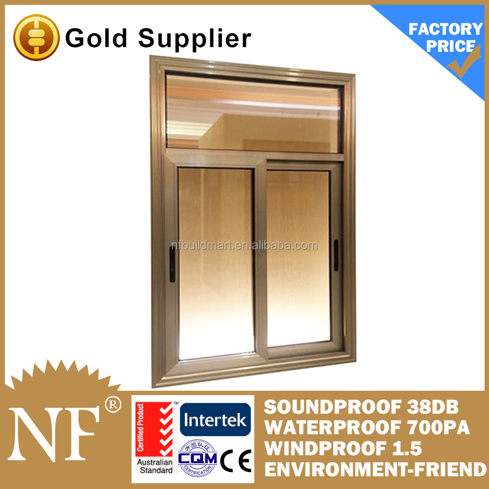 high quality cheap price pvc sliding window