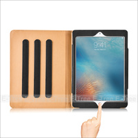 Classical Folio Case leather PU smart magnetic cover case stand for Ipad Pro 9.7 inch Black
