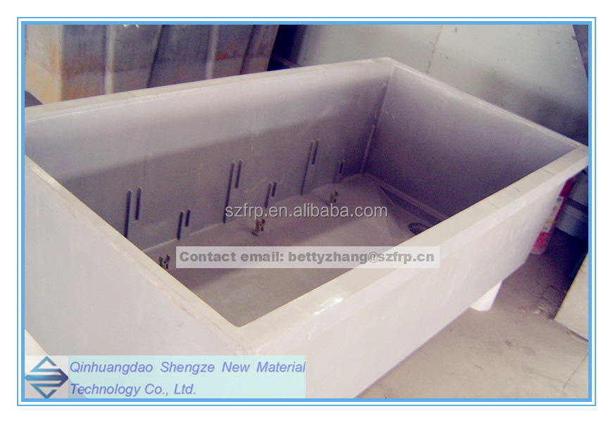FRP fish tank, GRP reaction tank, Large SMC tank
