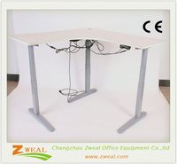 wood furniture office desk adjustable table height mechanisms tall desks new style melamine top executive