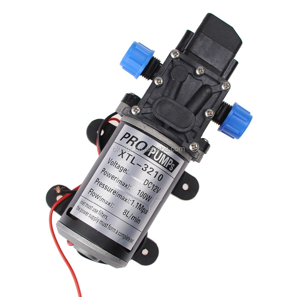 2016 Best Selling High Quality Water Pump List 12V Water Pump Electric High Pressure Water Pump