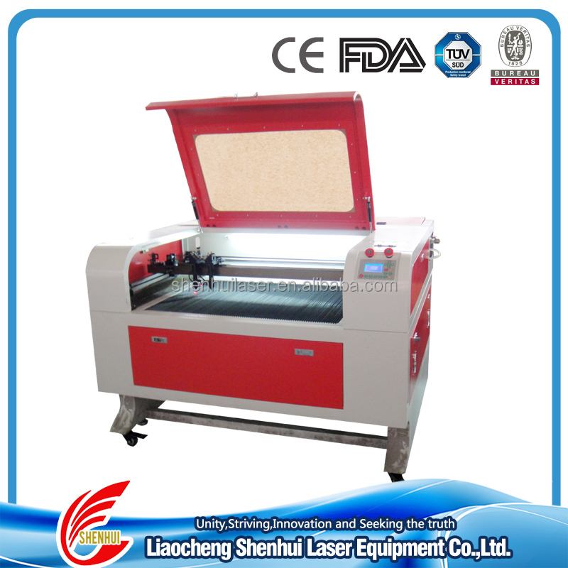 Long life span laser tube laser cutting machine 690 for Acrylic/Glass/Leather /Wooden