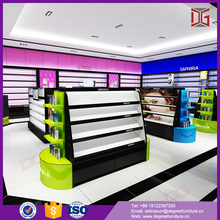 Modern Makeup Store Display Furnitures For Cosmetics