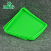 Can do custom logo 200ml flat wallet jar Silicone BHO container with FDA Approved