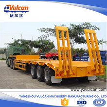 Factory high quality tri axle gooseneck flatbed trailer frame