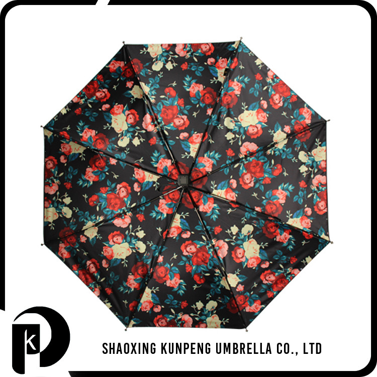 Digital printing for photo design uv protection lady umbrella wholesale anti uv sun beach umbrellas