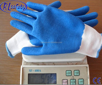 latex coated electrical rubber hand gloves