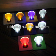 HOT Pomotional led card light ,led credit card light