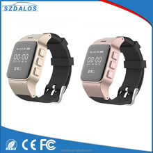 For elder GPS Tracker watch Smallest SOS support 2g 3g gps tracker watch