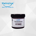 HY880 high thermal conductivity paste grease compounds gel for high power led COB more than 200W