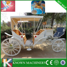 wedding romantic horse carriage cinderella horse carriage for sale
