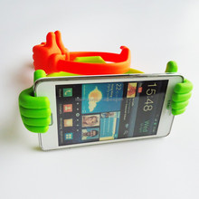 Desk phone accessories/funny thumb ok cell phone holder for desk