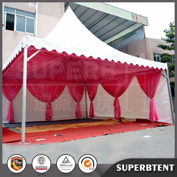 Rust-proof metal frame easy to assemble gazebos pagoda tent