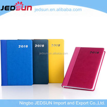 2018 Pu Leather Cover Material and Printed Style Creative Notebook Book Cover Design