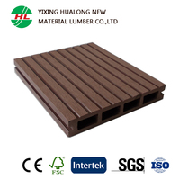 HDPE WPC Decking Exterior Wood Plastic Compostie Outdoor Flooring with Good Price Waterproof WPC Boards