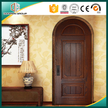 Round Top Design 3-Panel Modern Door Design Interior Door