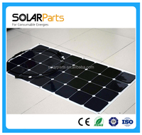 100W high efficiency flexible marine Solar Panel Price China