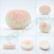 OEM High End Soap Flower Whitening Soap for Venezuela Market
