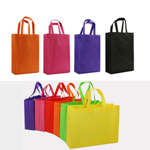 Custom grocery supermarket cheapest foldable reusable non woven shopping bag