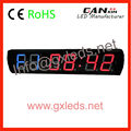 GYM special LED digital crossfit timer for obesity