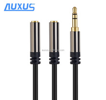 3.5mm headphone audio extension male to female aux jack cable