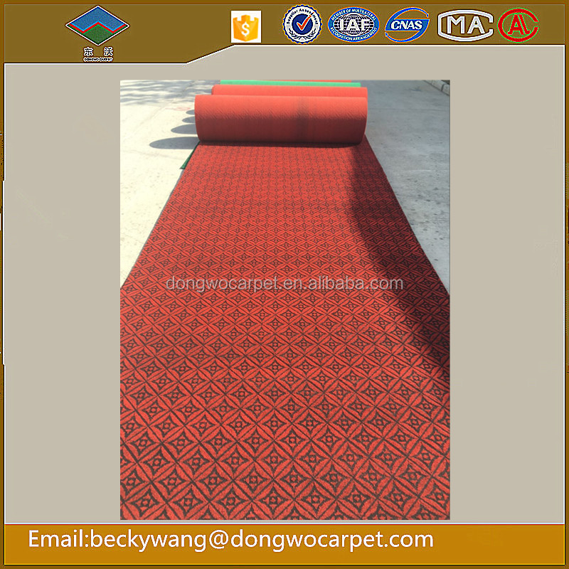 Best Double Colour jacquard Carpet ,100% Polyester Surface pile Carpet used for home hotel and commerical