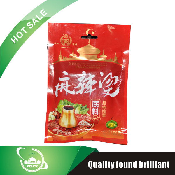 hot sell plastic package hot pot condiment