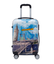 Business travel hard case abs pc trolley luggage spinner luggage