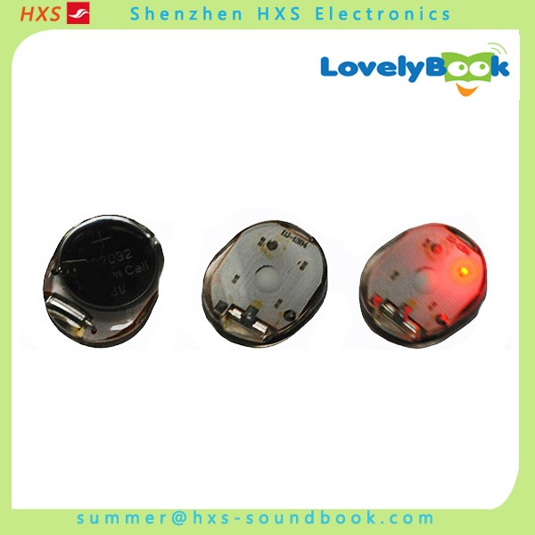 Vibrating Activated Plastic Led Module for Children Clothes