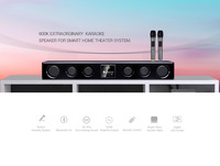 5.1 active home theater speaker system/3D surround sound home theater surround sound system/karaoke home theatre system with mic