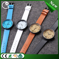 New woman colorful watches cheap custom leather watch wholesale
