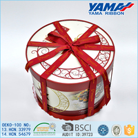 Decoration red ribbon birthday cakes