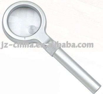 Promotional flat magnifying glass