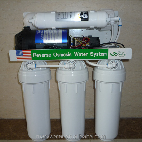 Residential Under Sink Water Filter 5 Stage Reverse Osmosis System RO Water Purifier