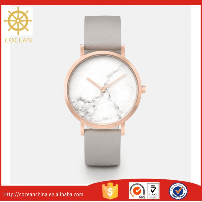 New And Unique Products Shenzhen Cocean Timepiece Technology Marble Watch