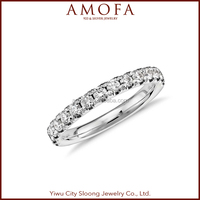 New Design Sterling Silver vogue jewelry wedding rings