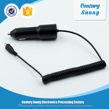 High quality car charger with cable for mobile phone tablet,power bank