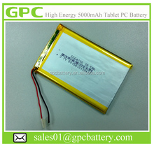 3.7V 5000mah Lipo Battery for Tablet PC MID battery 6664100