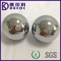 high polished 25mm solid 316 stainless steel ball for sex toy