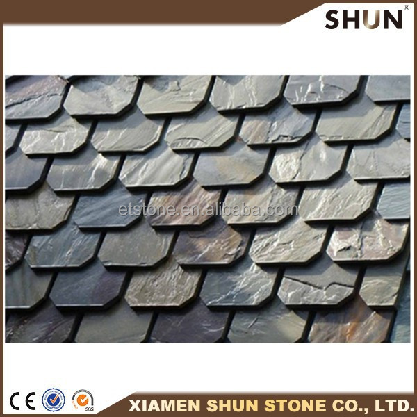 chinese cheap cultured slate stone ,factory supply culture slate stone decoration roof