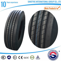 hot sell radial truck tyre 295/80r22.5 315/80r22.5 tire truck pneu