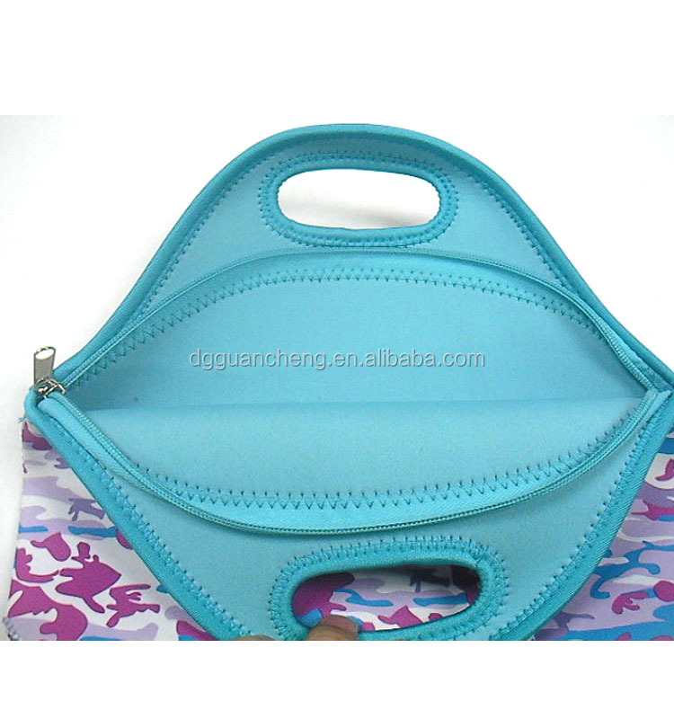 GC-Dongguan Lunch Bag take out warm protection neoprene eva lunch bag