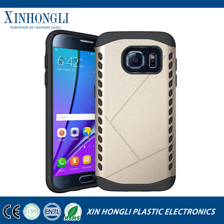 Bottom price hotsell pc tpu 2 in 1 for samsung s7 case