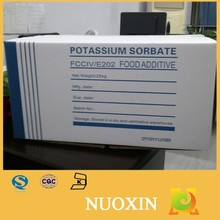 Potassium sorbate e-202 food preservative.pet food additive